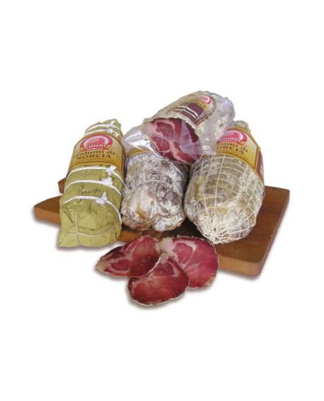 Lonze stagionate 1,2 kg Salumificio Ciliani