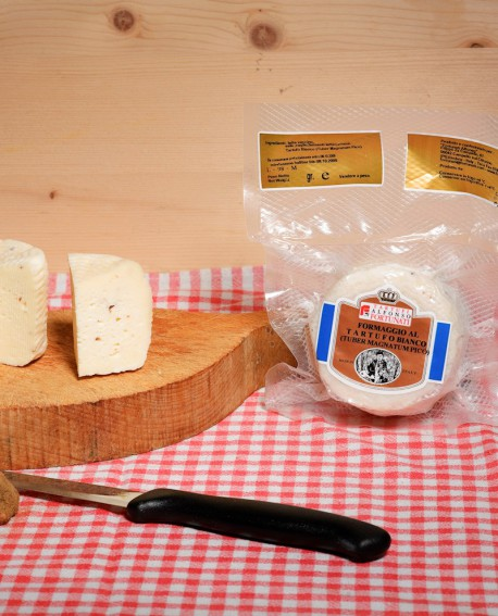Formaggio al Tartufo Bianco (TuberMagnatum Pico) 200 g - Tartufi Alfonso Fortunati