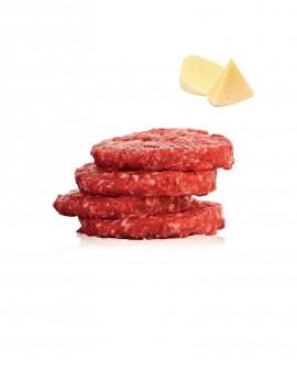 Hambuger 100g di Chianina al Formaggio 1 kg - Carni Pregiate Certificate - Tenuta Luchetti