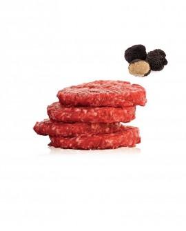 Hambuger 100g di Chianina al Tartufo 1 kg - Carni Pregiate Certificate - Tenuta Luchetti