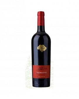 Vino rosso DOC Colli Martani, Sangiovese - Moretto 750 ml  Vol. 13,50% - Cantina Tenuta San Rocco