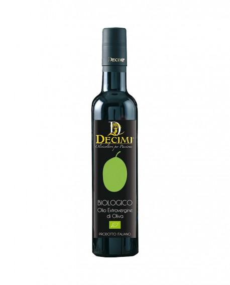 Olio extra vergine di oliva Biologico – Bottiglia da 500 ml – pacco bottiglie - Azienda Agraria Decimi