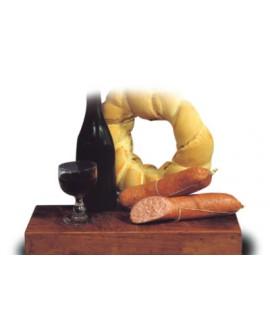 Salame morbido spalmabile 500 g Salumificio Ciliani