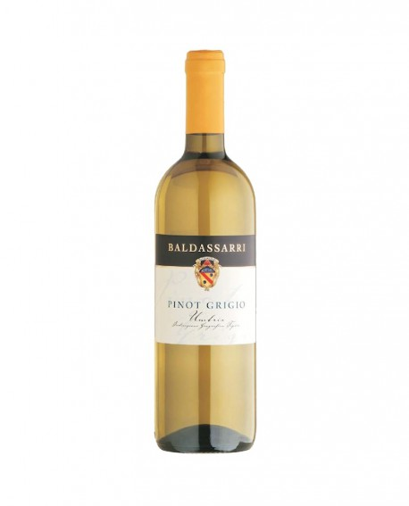 Pinot Grigio Vino IGT Umbria - Bottiglia da 0,75 Lt - Cantina Baldassarri