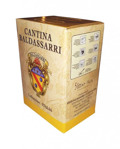 Vino Grechetto IGT Umbria - Bag in box da 5 lt - Cantina Baldassarri