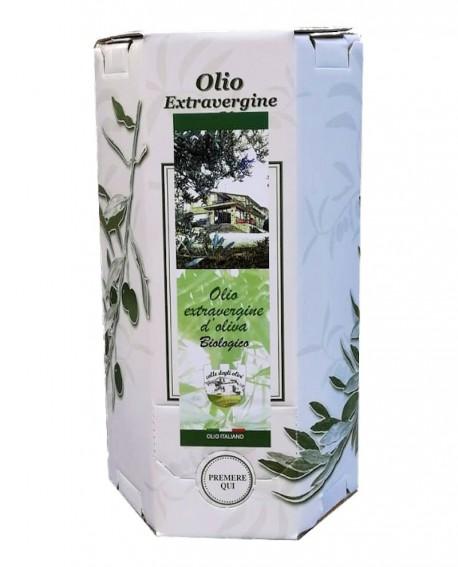 Olio extra vergine di oliva Biologico Italiano – Bag in Box da 3 litri – pacco da 4 bag in box - Colle degli Olivi