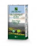 Olio Extra Vergine di Oliva Biologico estratto a freddo 100% italiano - 3 l - Crudigno