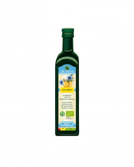 Olio di semi Lino con limone - 250 ml - Crudigno