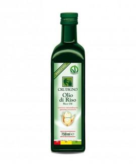 Olio di riso - 750 ml - Crudigno