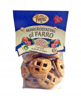 Minicrostatine al farro frutti di bosco - 250g - Pasticceria 7 Porte Nursine - Dolciaria Severini