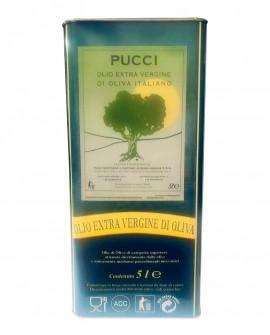 Olio extra vergine di oliva dell'Umbria – Lattina da 5 Litri - Olio Pucci