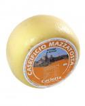 Caciotta di Bettona - latte vaccino 2,0-2,2 Kg - stagionatura 20 giorni - Caseificio Mazzatosta