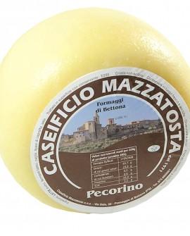 Pecorino di Bettona - ovino 3,4-3,6 Kg - stagionatura 40 giorni - Caseificio Mazzatosta
