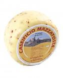 Formaggio Misto al peperoncino - ovino-vaccino 1,4-1,6 Kg - stagionatura 20 giorni - Caseificio Mazzatosta