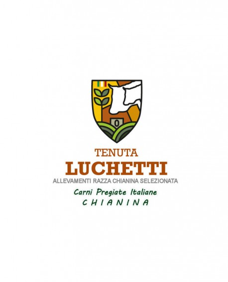 Cotolette di Chianina - 1 Kg - Carni Pregiate Certificate - Tenuta Luchetti