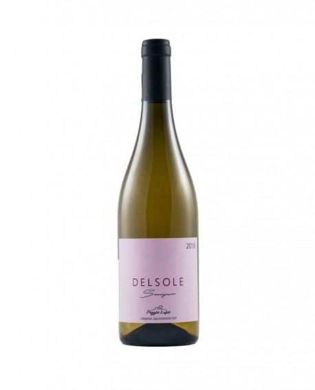 DELSOLE Umbria Sauvignon IGP - vino bianco 0,75 lt - Cantina PoggioLupo