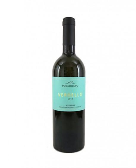VERDELLO Umbria Verdello IGP - vino bianco 0,75 lt - Cantina PoggioLupo