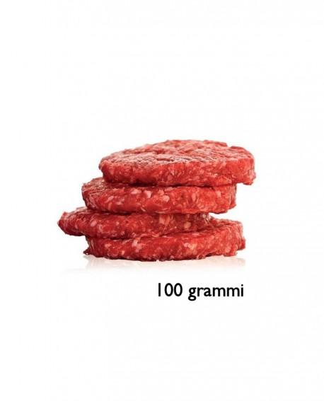 Hambuger 100g di Incrocio di Chianina - razza Chianina e Autoctona o Cosmopolita - 1 kg scatola sv - Macelleria Daniele Luchetti