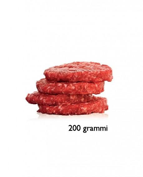 Hambuger 200g di Incrocio di Chianina - razza Chianina e Autoctona o Cosmopolita - 1 kg scatola sv - Macelleria Daniele Luchetti