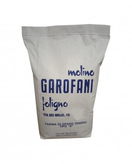 Farina tipo 0 grano tenero italiano - sacco da kg 10 - Molino Garofani