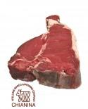 Fiorentina di Chianina IGP porzionata sottovuoto - 1 Kg - frollatura 7gg - Macelleria Carni IGP Certificate