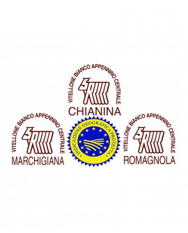 Lombo intero di Marchigiana IGP in scatola - 22 Kg - frollatura 7gg - Macelleria Carni IGP Certificate