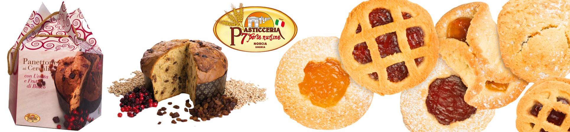 Pasticceria artigianale, panettoni artigianali, biscotti, crostatine Vendita Online - Dolciaria Severini