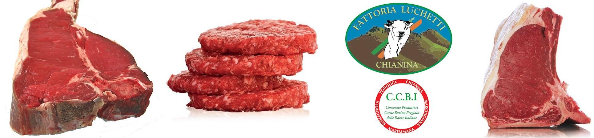 CHIANINA Carni Pregiate - Fattoria Luchetti - vendita online
