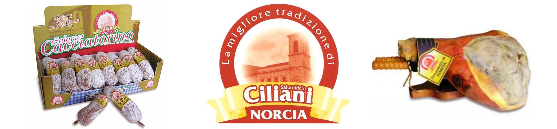 Prosciutto di Norcia Ciliani - vendita online